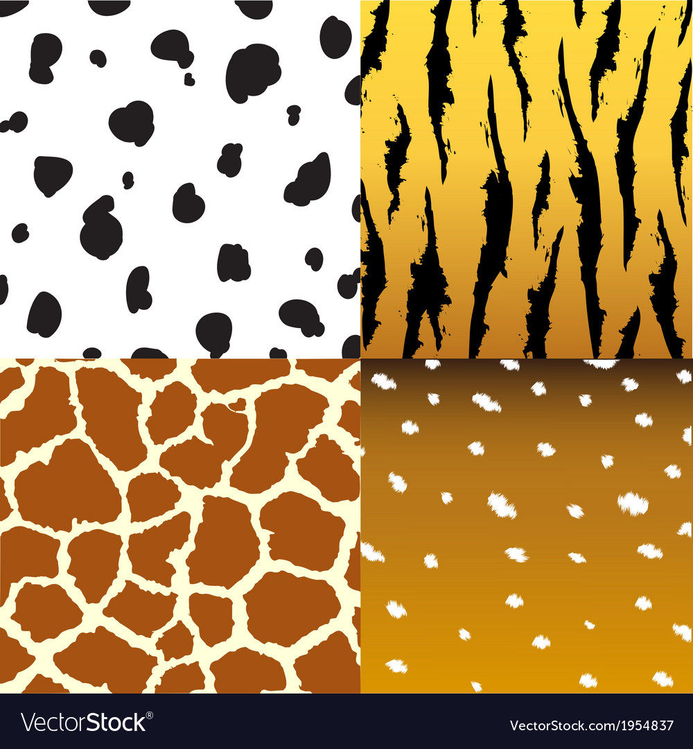 Pattern of animals vector | Price: 1 Credit (USD $1)
