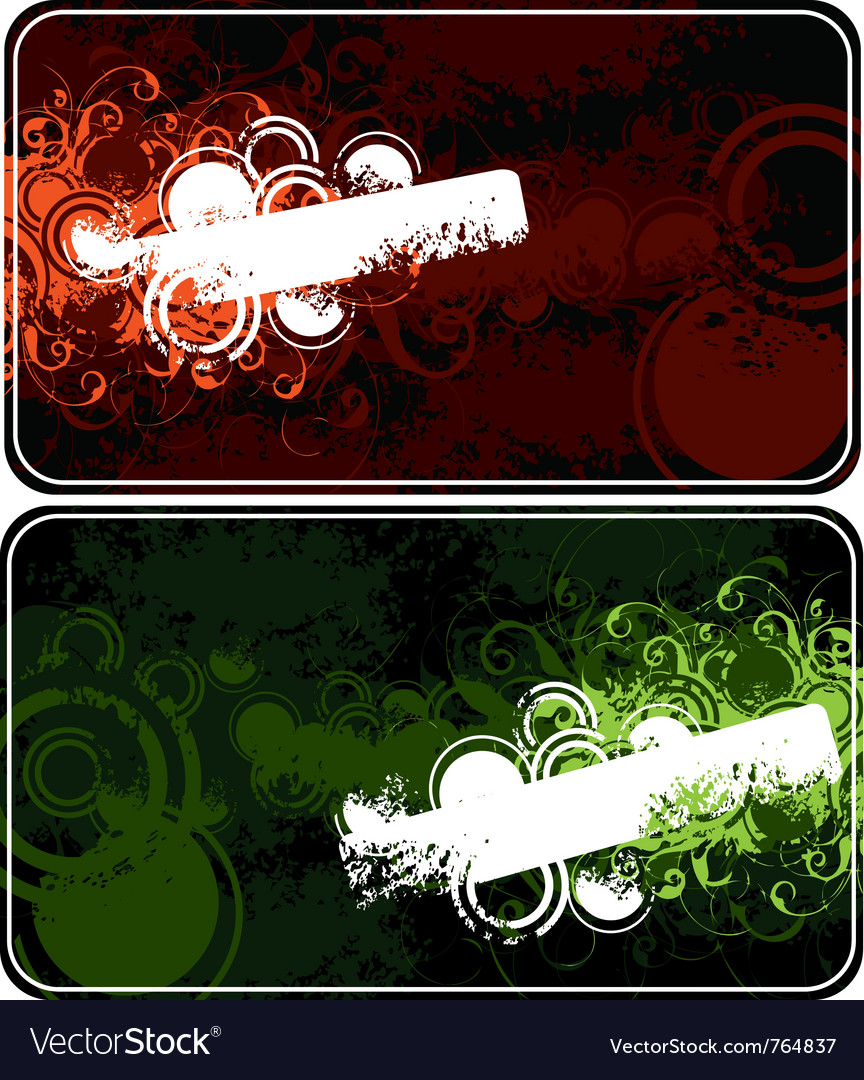 Two compositions vector | Price: 1 Credit (USD $1)