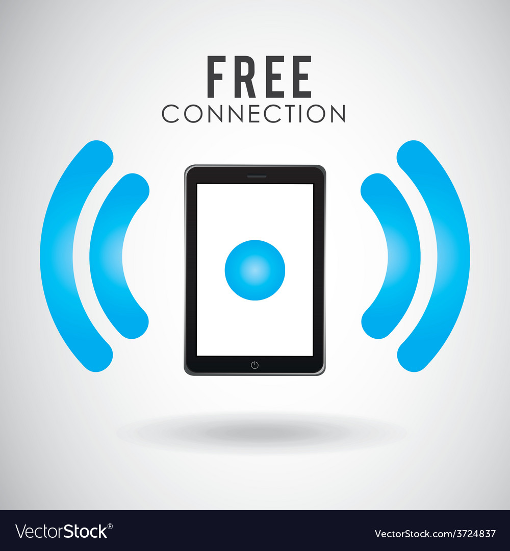 Wi-fi connection design vector   Price: 1 Credit (USD $1)