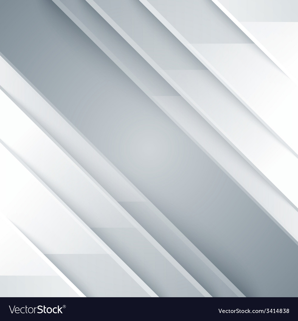 Abstract gray and white shiny triangle shapes vector | Price: 1 Credit (USD $1)