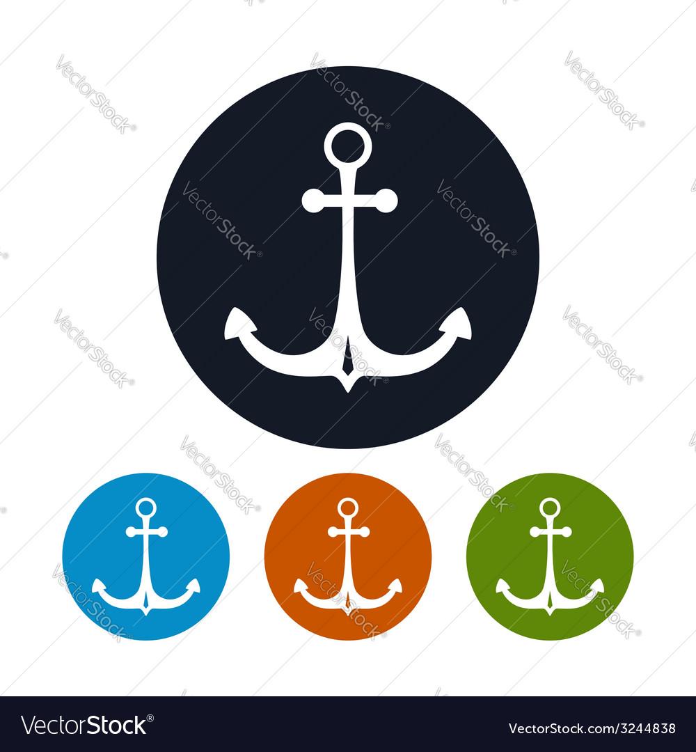 Anchor icon vector   Price: 1 Credit (USD $1)