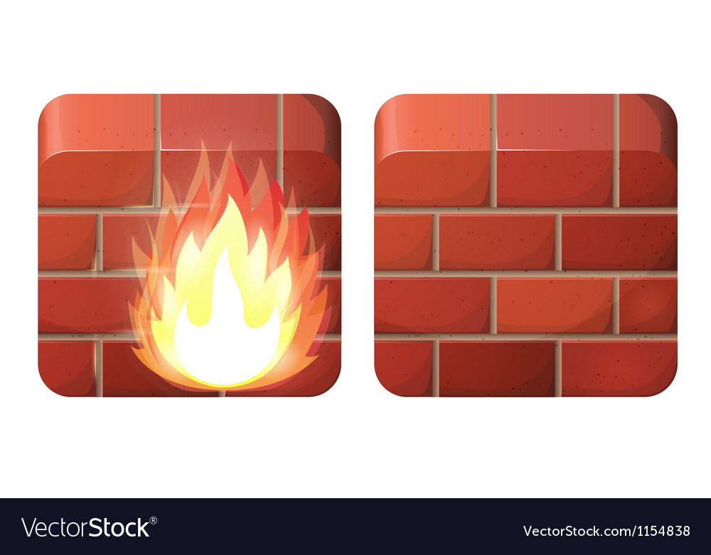 Firewall vector | Price: 1 Credit (USD $1)