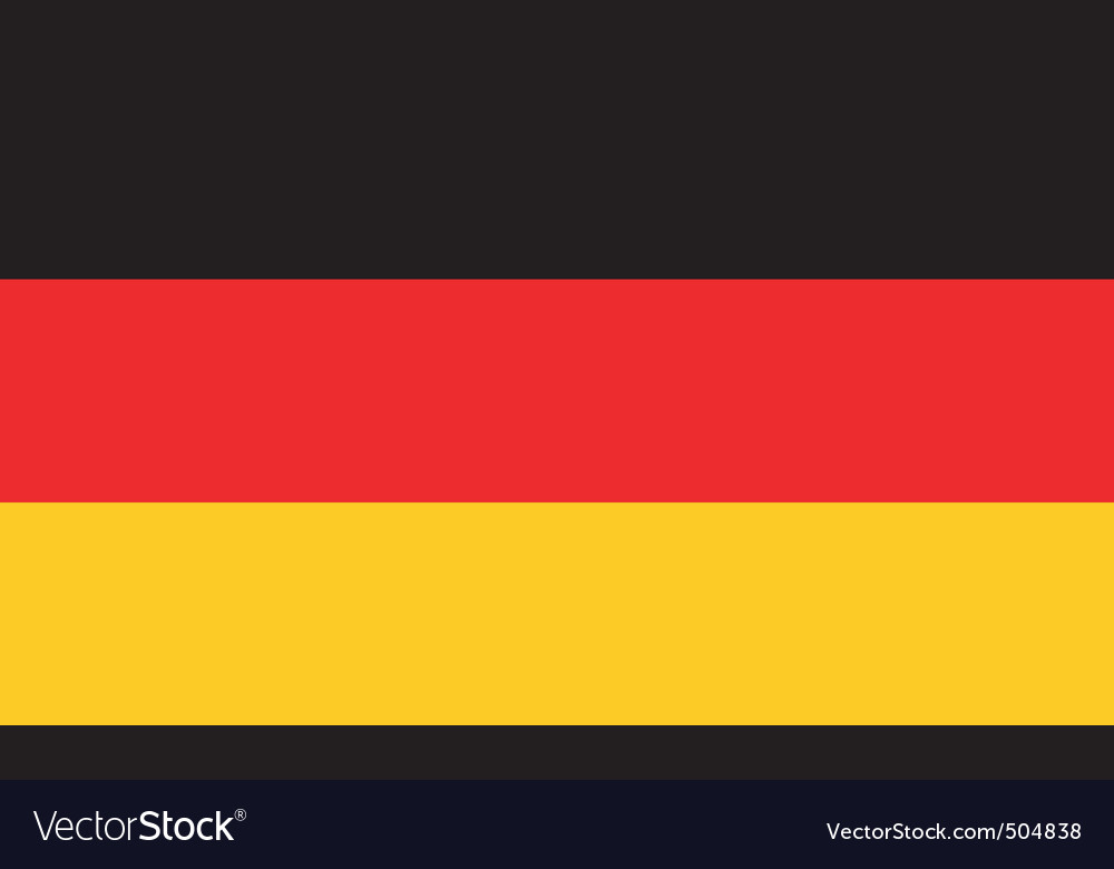 German flag vector