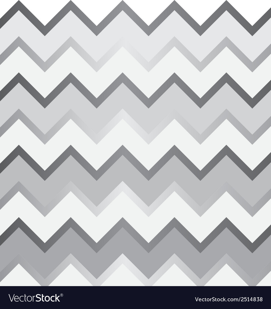 Grey and white chevron pattern vector | Price: 1 Credit (USD $1)