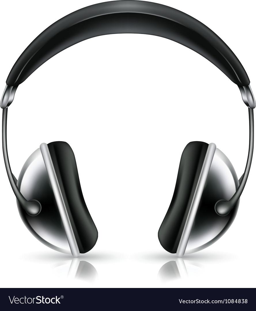 Head phones icon vector | Price: 1 Credit (USD $1)