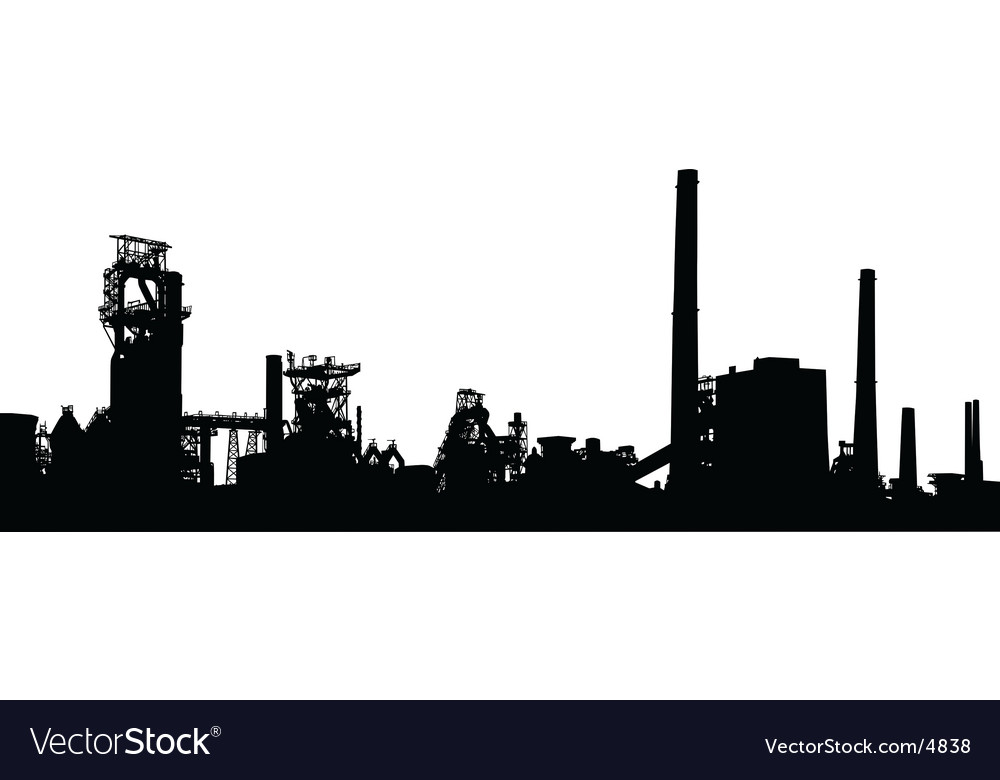 Industrial foreground vector | Price: 1 Credit (USD $1)