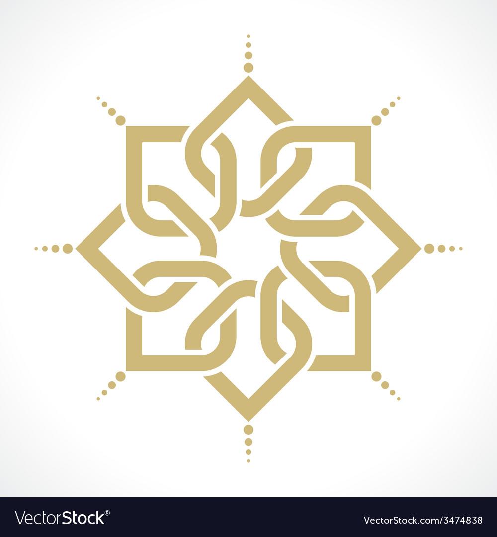 Oriental pattern vector | Price: 1 Credit (USD $1)