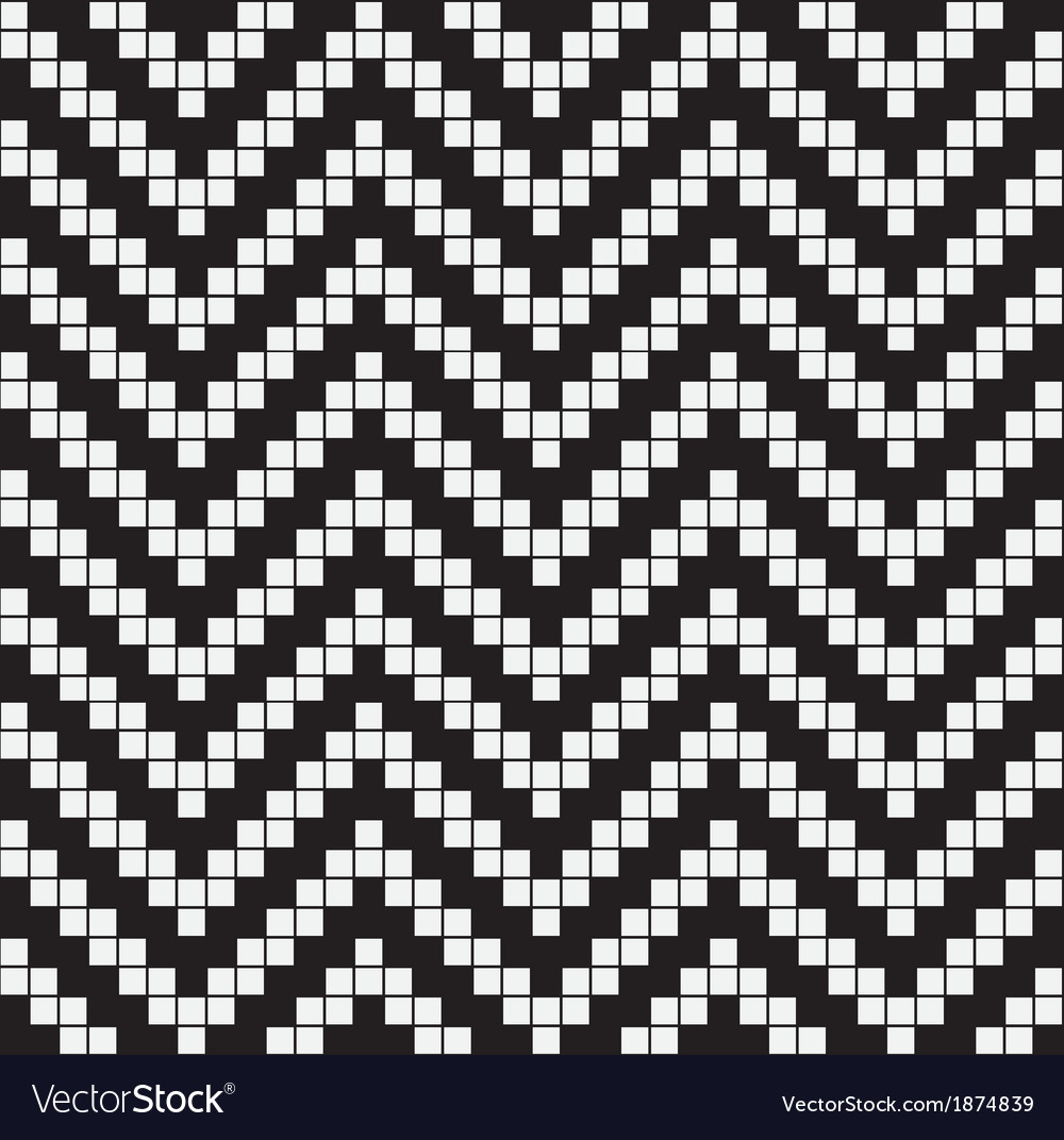 Herringbone weave geometric seamless pattern vector | Price: 1 Credit (USD $1)