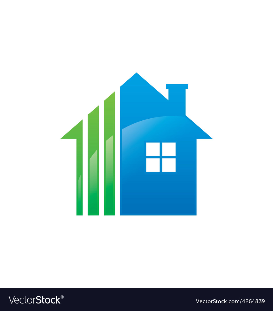 Home realty logo vector | Price: 1 Credit (USD $1)