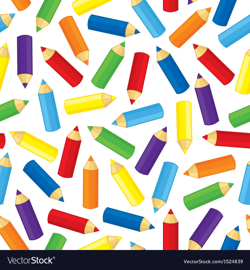 Pencil pattern vector | Price: 1 Credit (USD $1)