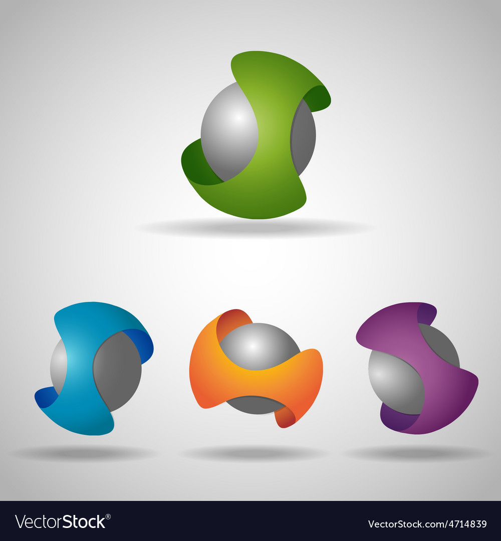 Sphere colorful vector | Price: 1 Credit (USD $1)
