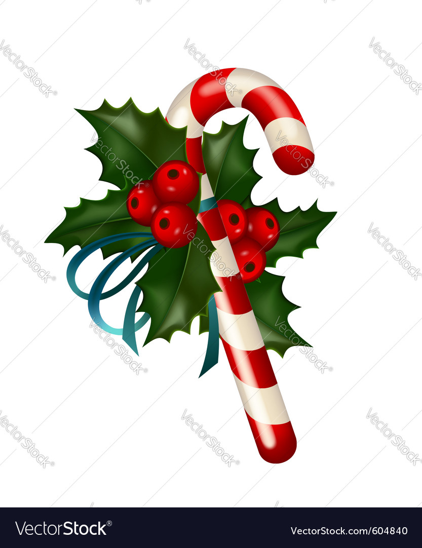 Christmas sugar candy vector | Price: 3 Credit (USD $3)