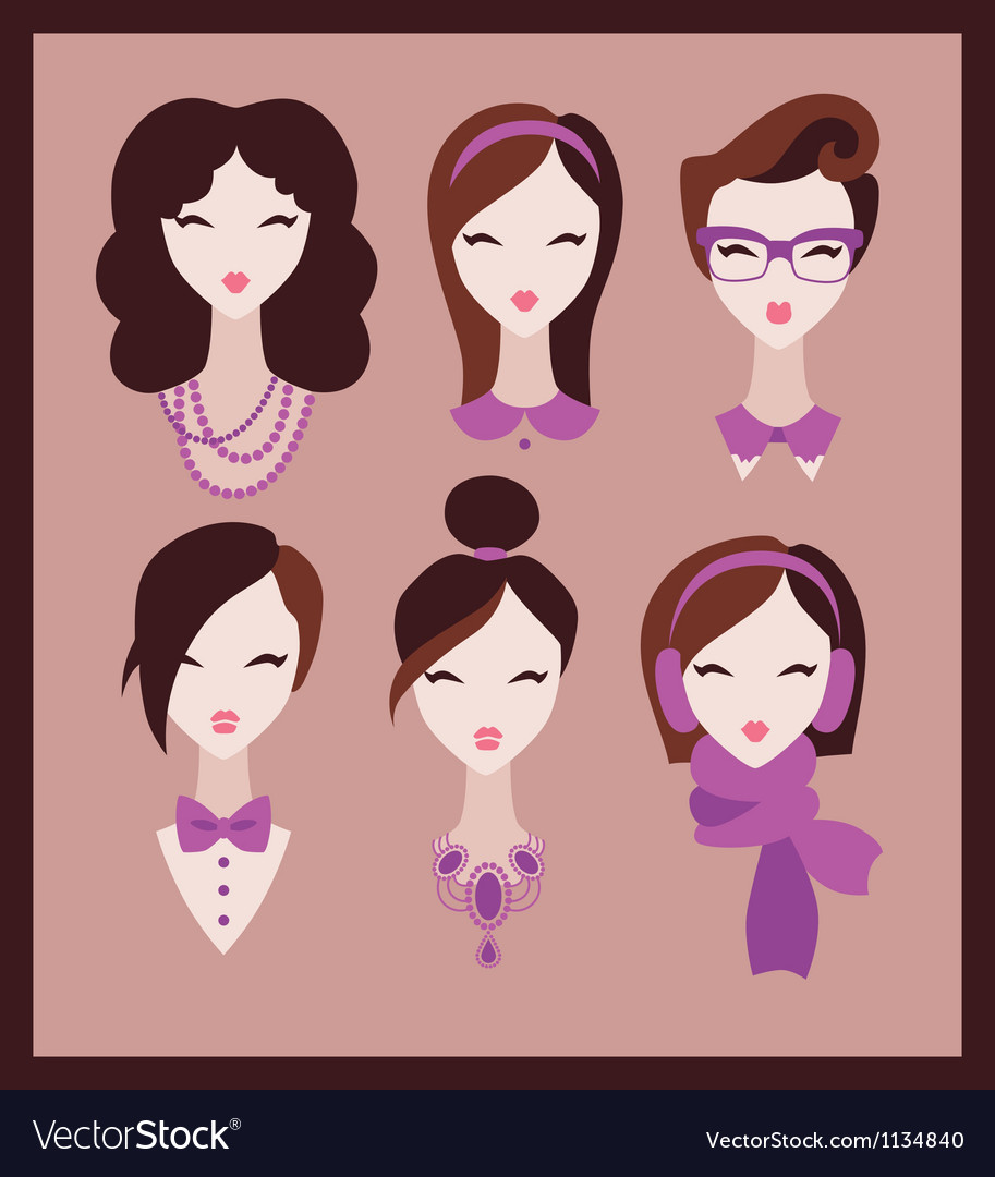 Fashion girls vector | Price: 1 Credit (USD $1)