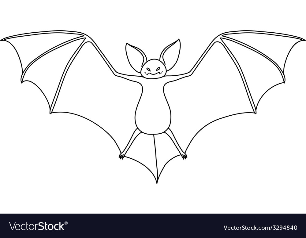 Vampire bat vector | Price: 1 Credit (USD $1)