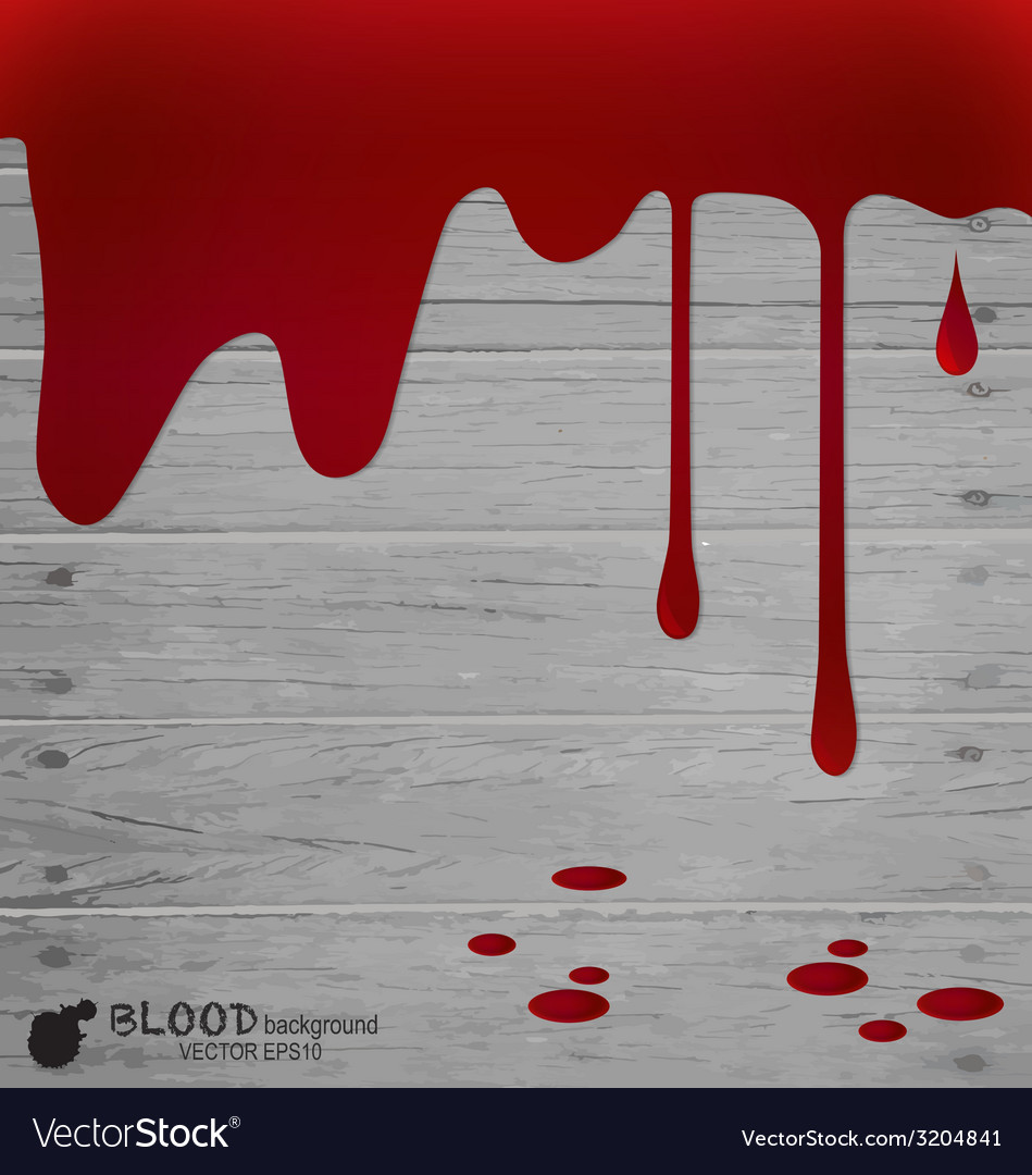 Happy halloween design banners blood dripping vector | Price: 1 Credit (USD $1)