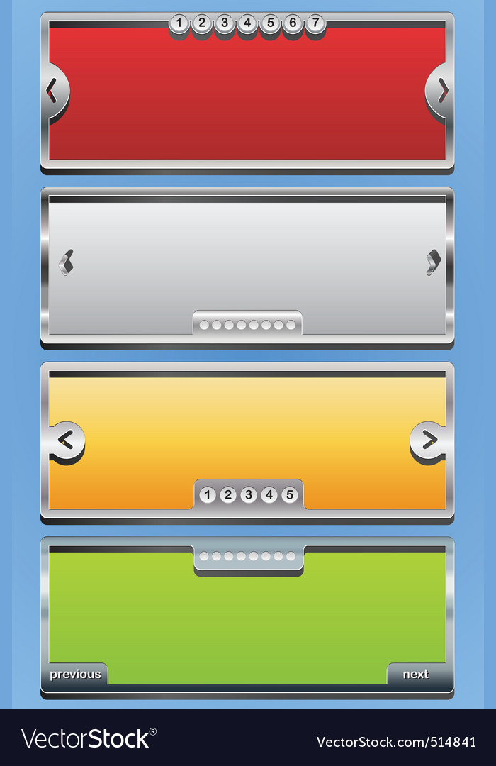 Menu sliders vector | Price: 1 Credit (USD $1)