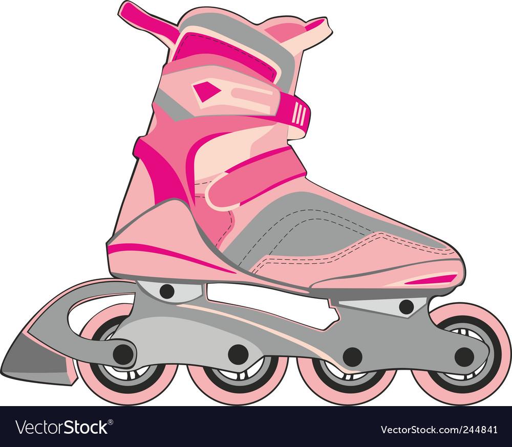 Roller skates vector   Price: 1 Credit (USD $1)
