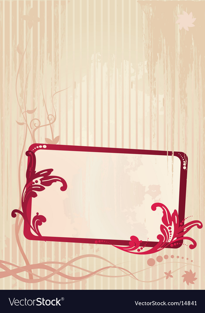 Wallpaper frame vector | Price: 1 Credit (USD $1)