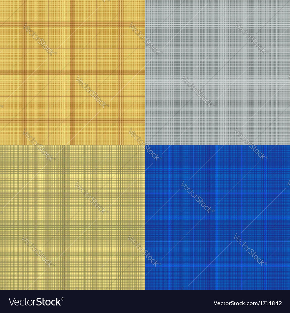 Set of seamless sacking texture vector | Price: 1 Credit (USD $1)