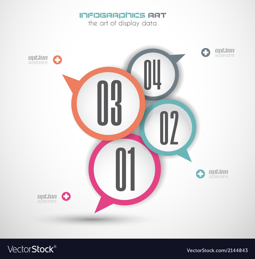 Infographics concept background with stylish vector | Price: 1 Credit (USD $1)