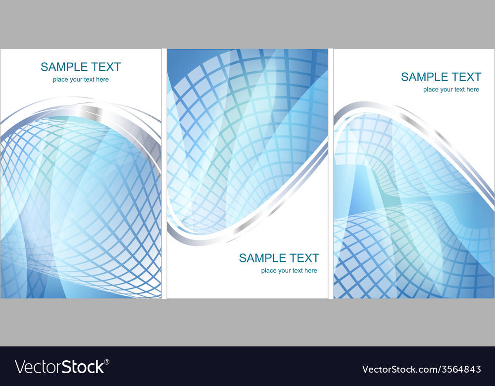 Set pf hi-tech backgrounds vector | Price: 1 Credit (USD $1)