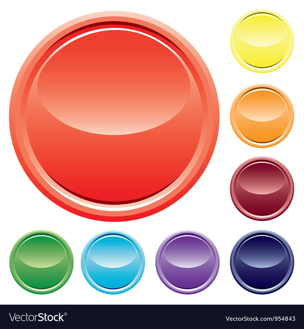 Varicolored buttons vector | Price: 1 Credit (USD $1)