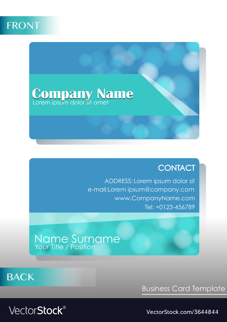 A blue card vector | Price: 1 Credit (USD $1)