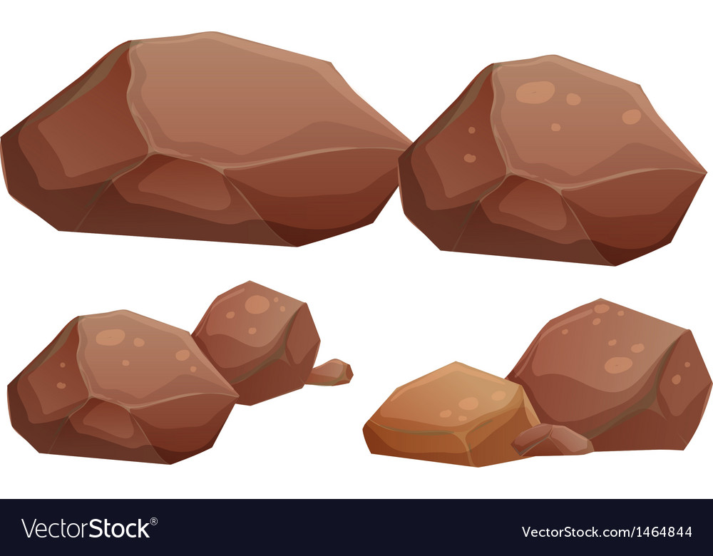 Big and small rocks vector | Price: 1 Credit (USD $1)