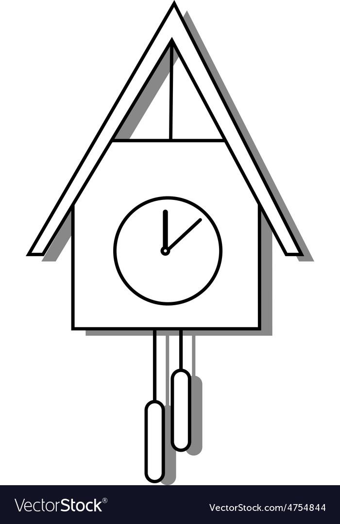Cuckoo clock vector   Price: 1 Credit (USD $1)