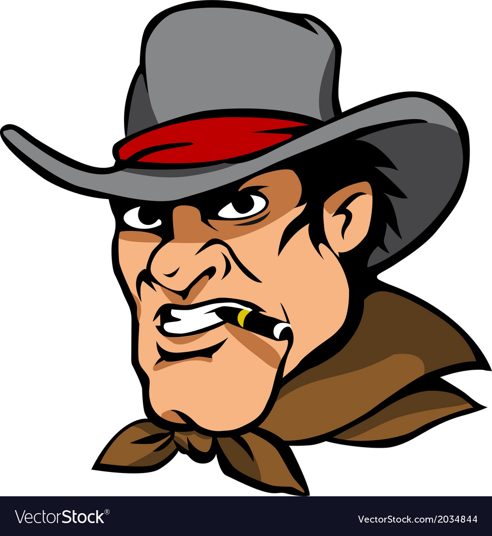 Danger cowboy vector | Price: 1 Credit (USD $1)
