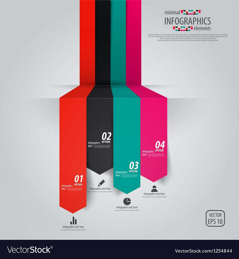 Minimal infographics design vector   Price: 1 Credit (USD $1)