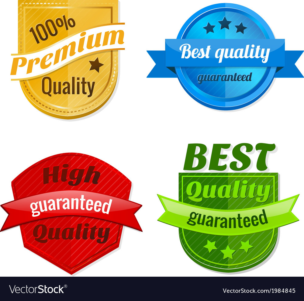 Collection of product offer badges vector | Price: 1 Credit (USD $1)