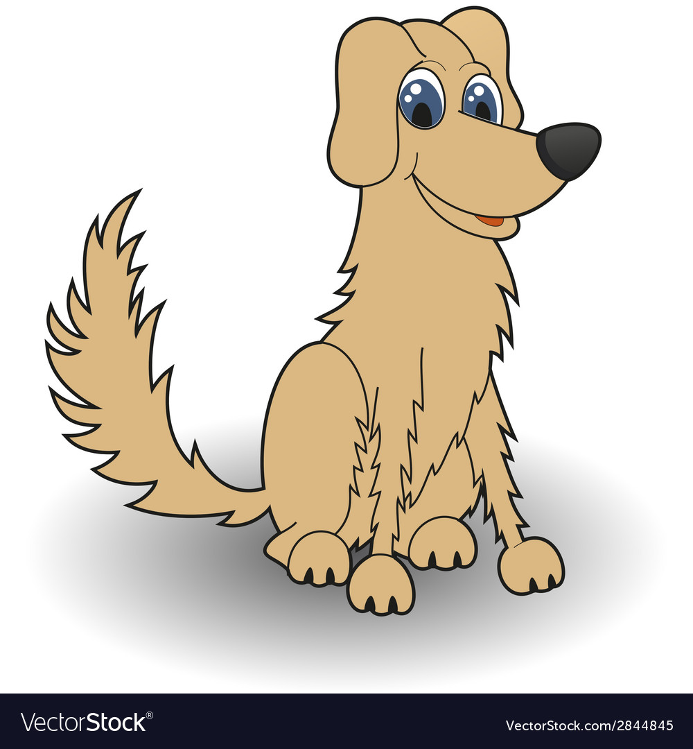 Dog cartoon vector   Price: 1 Credit (USD $1)