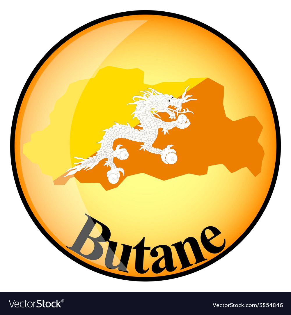 Button butane vector | Price: 1 Credit (USD $1)