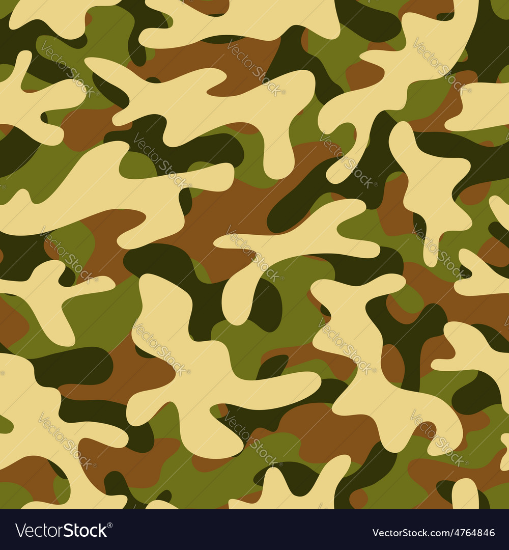 Camouflage seamless pattern vector   Price: 1 Credit (USD $1)