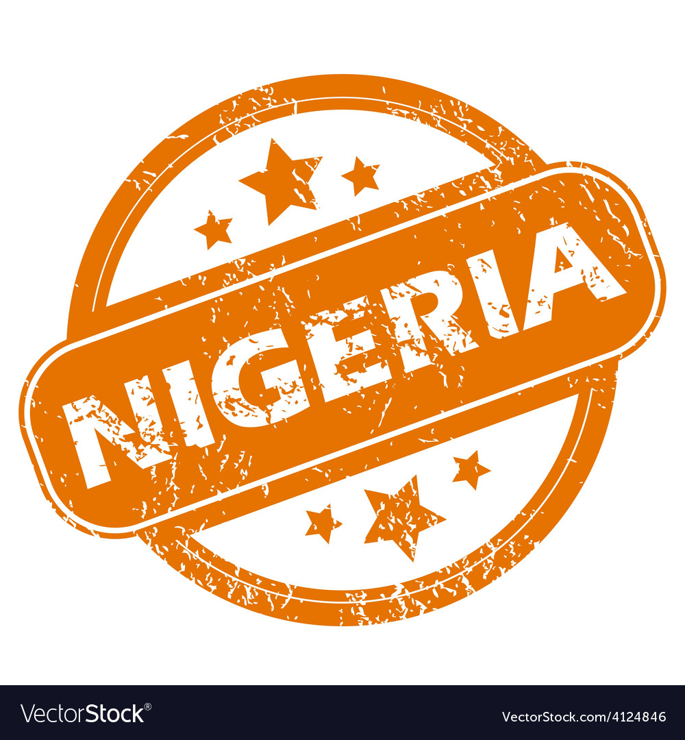 Nigeria grunge icon vector | Price: 1 Credit (USD $1)