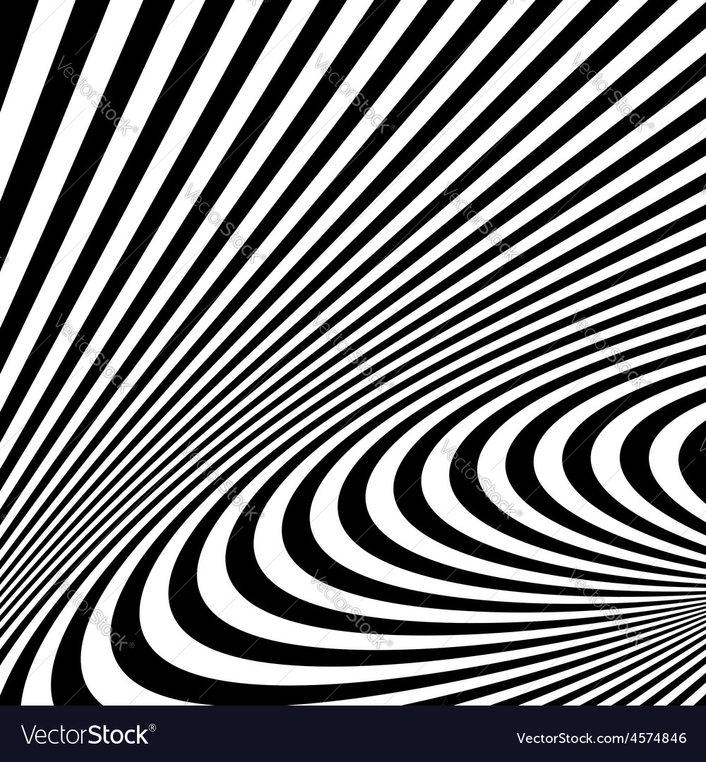Pattern with optical  black and white vector   Price: 1 Credit (USD $1)