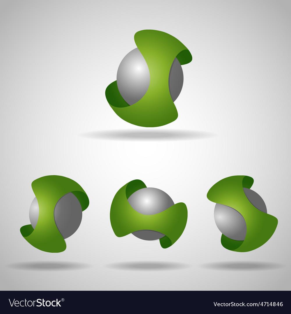 Sphere green vector | Price: 1 Credit (USD $1)