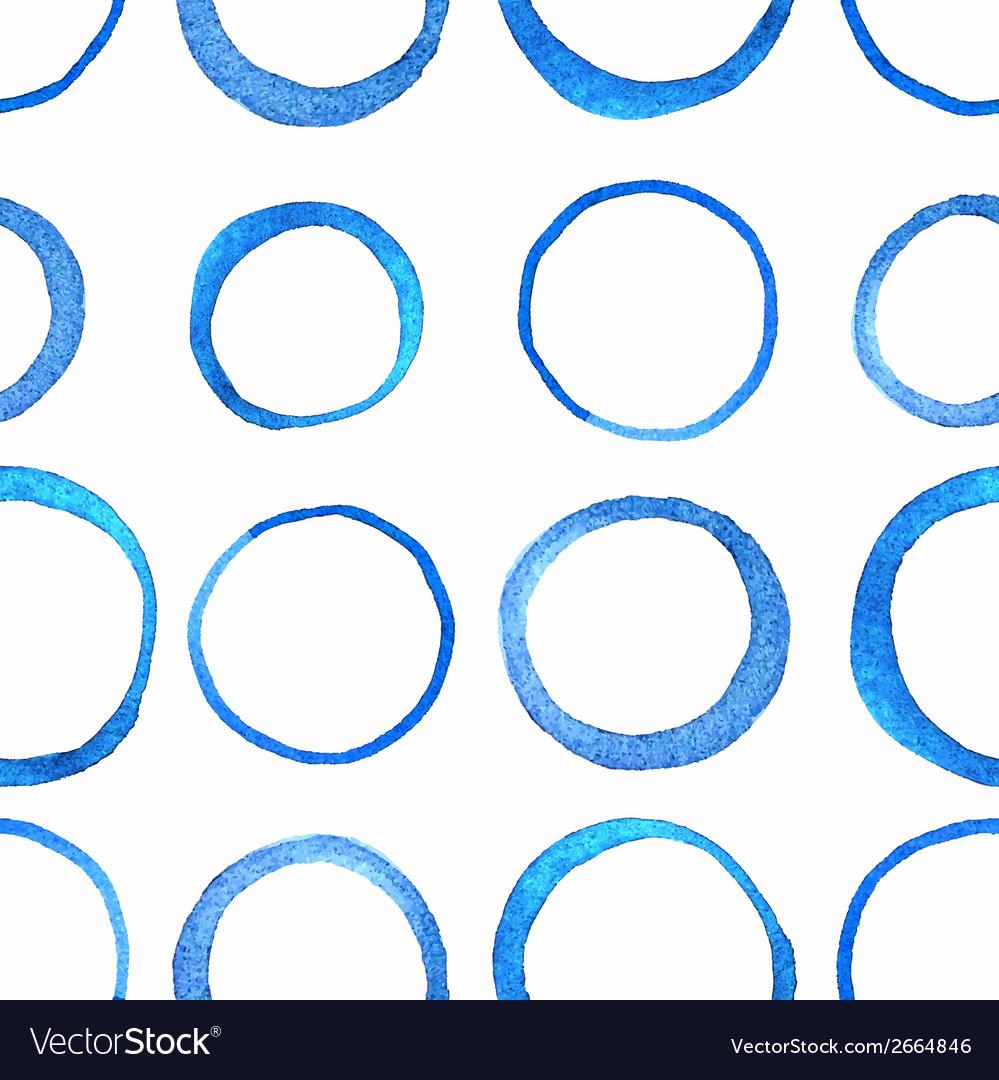 Watercolor circle pattern vector | Price: 1 Credit (USD $1)