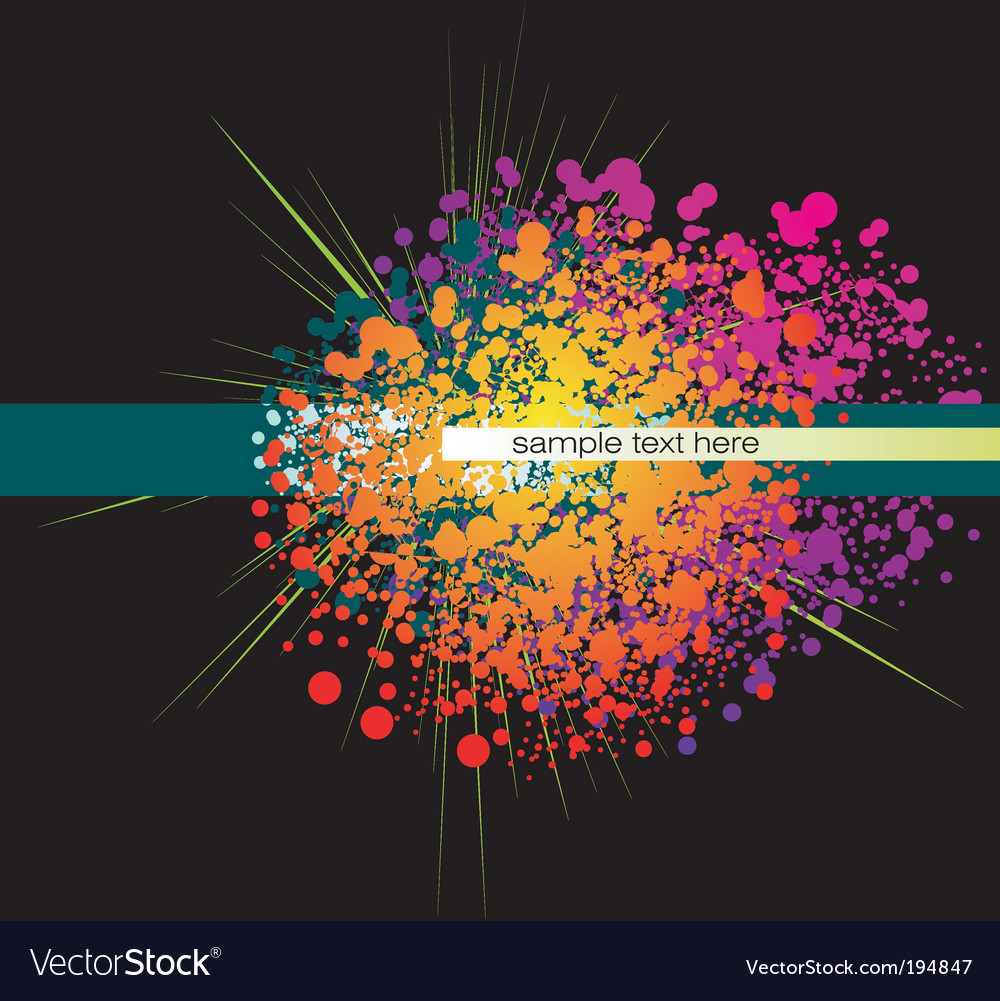 Abstract colorful background vector | Price: 3 Credit (USD $3)
