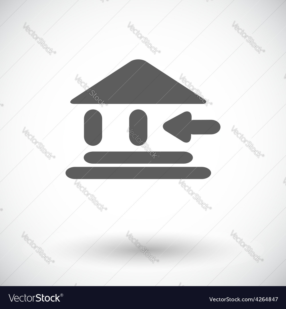 Entry single icon vector | Price: 1 Credit (USD $1)
