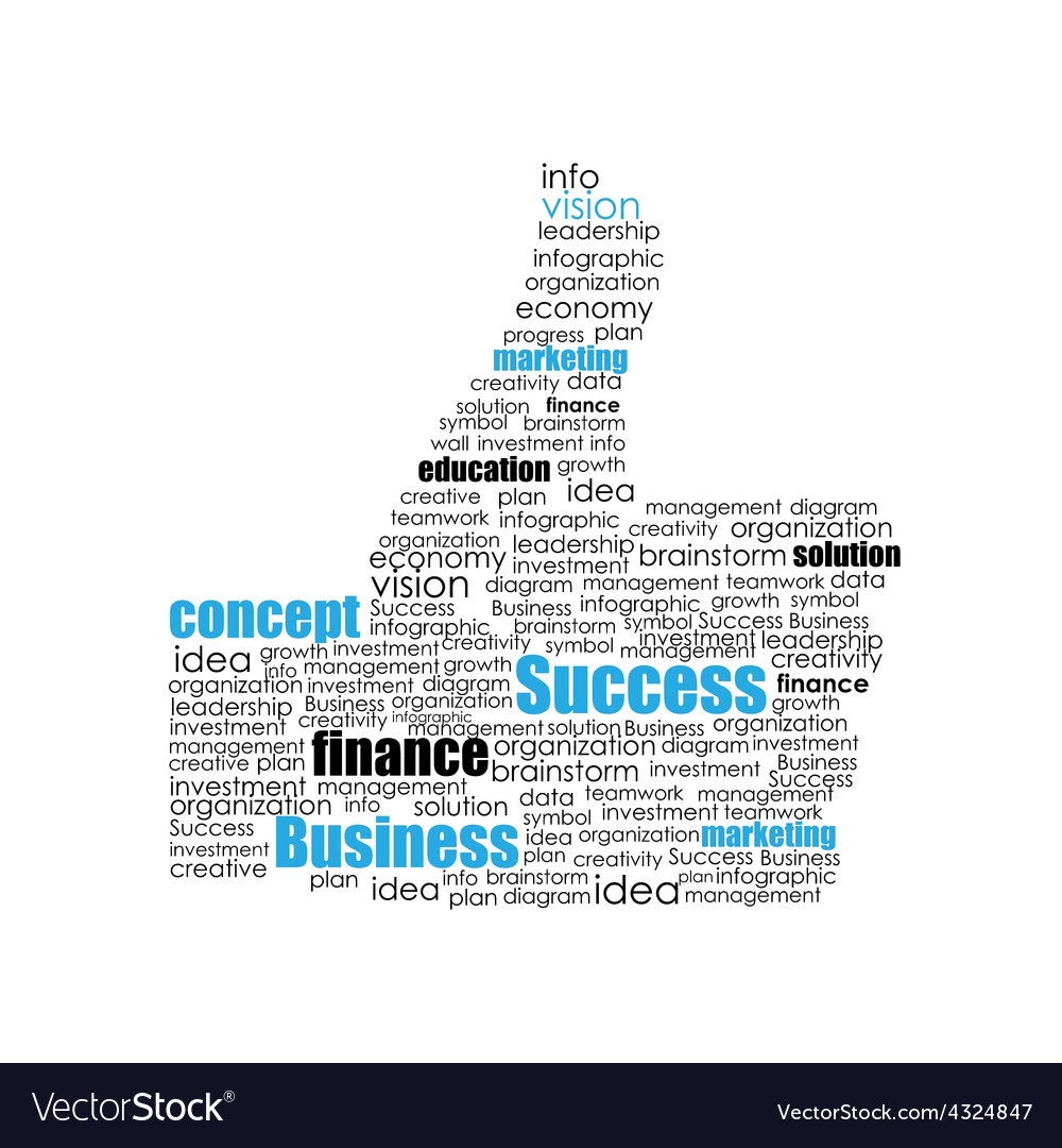 Success hand sign vector | Price: 1 Credit (USD $1)