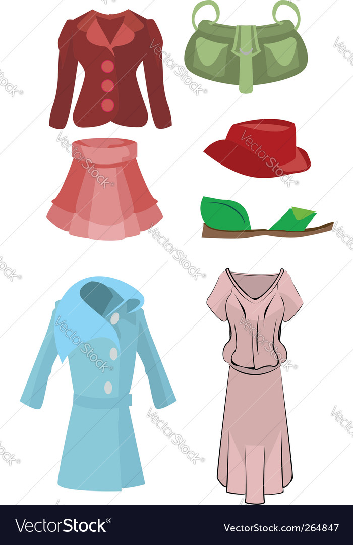 Womens fashion designs vector | Price: 1 Credit (USD $1)