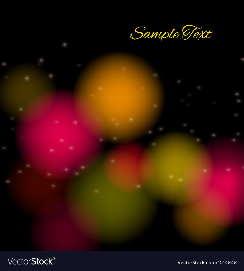 Abstract background with bright color spots vector   Price: 1 Credit (USD $1)