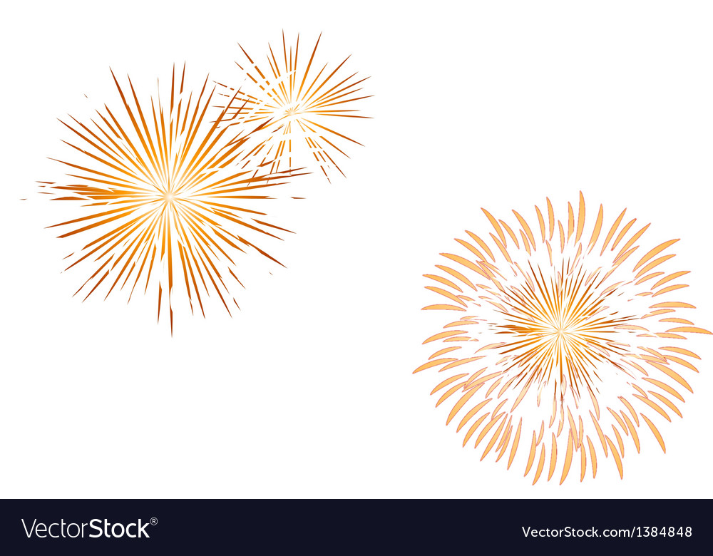 Icon fire works vector | Price: 1 Credit (USD $1)