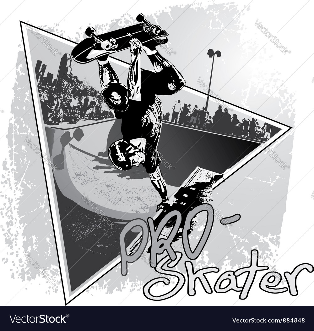 Pro skater vector | Price: 1 Credit (USD $1)