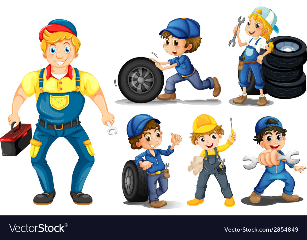 Mechanic set vector | Price: 3 Credit (USD $3)