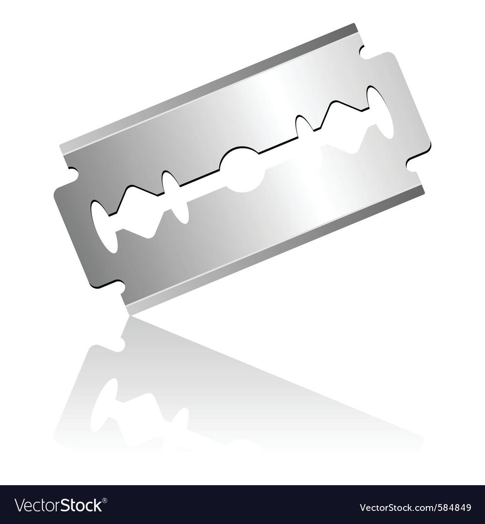 Razor blade vector | Price: 1 Credit (USD $1)