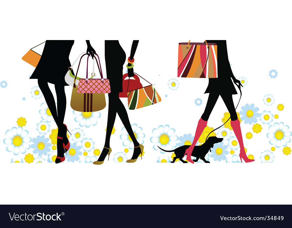 Summer shopping vector | Price: 1 Credit (USD $1)