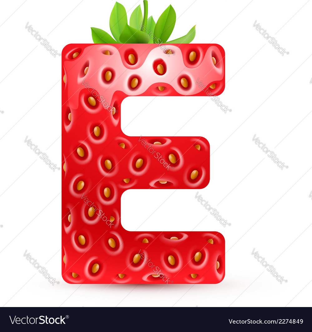 Tasty alphabet vector | Price: 1 Credit (USD $1)